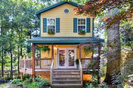 'Mimi's Cottage' 1BR Asheville Home - アシュビル - 一軒家