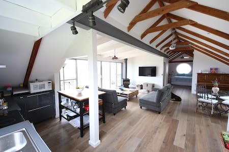 Luxurious loft apartment - Ventnor - Daire