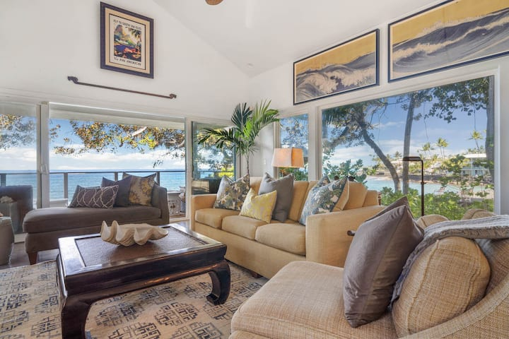 Nai'a Hale: Private Oceanfront Oasis, 1 Bedroom + Alcove