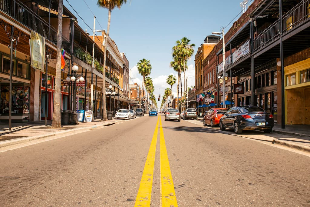 YBOR CITY: Visitors say 7th Ave (The Strip) reminds them of Bourbon Street. As a once native of New Orleans I agree. A cleaner much safer version of Bourbon Street. My absolute favorite place to spend time in Tampa.