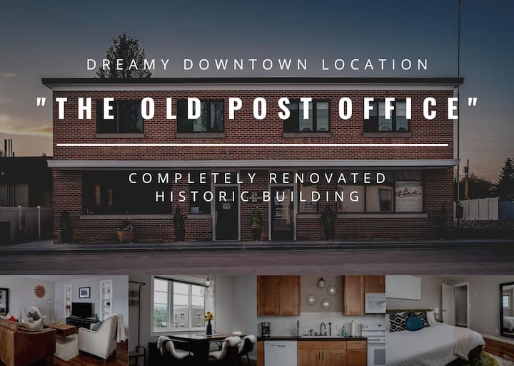 """The Old Post Office"" - Renovated Apt - With W/D"