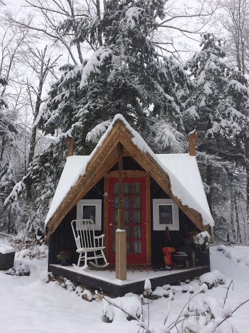 Magical Cozy Vermont Cabin Amp Sauna Cabins For Rent In