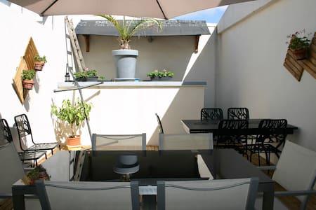Maison spacieuse pour 10-15 personnes - Longeville-sur-Mer - Σπίτι