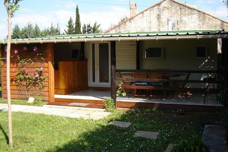 Joli mobilhome proche de la rivière de l'Ardèche - Saint-Julien-de-Peyrolas - Banglo
