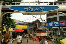 Traditional market near my house (4minutes away !!)