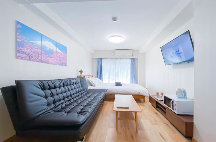 3 mins to Shinjuku Sta! Cozy Apt  Free Wifi. #205