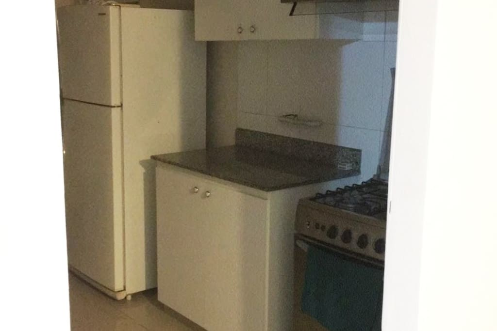 Kitchen appliances available for use