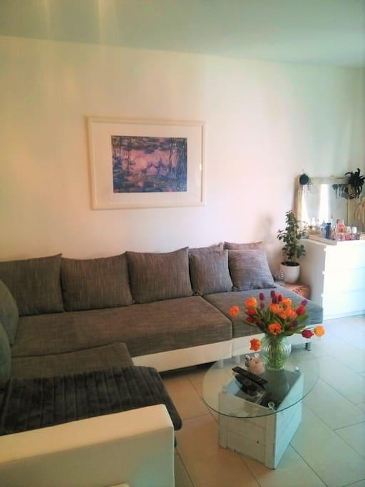 Mein gemütliches Sofa zum Entspannen