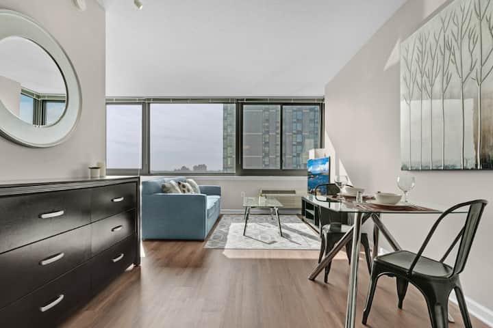 Modern Studio   Full Kitchen & W/D   Jersey City