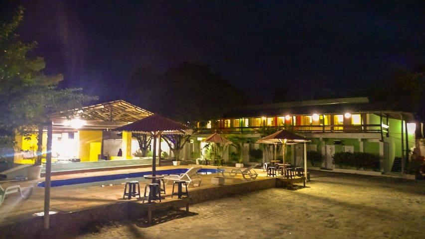 dom hotéis , pousada da familia santos