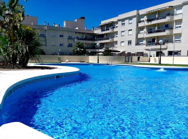 PISO D LUJO+wifi+A/A+Vistas al mar+PISCINA. - San Fernando - Casa