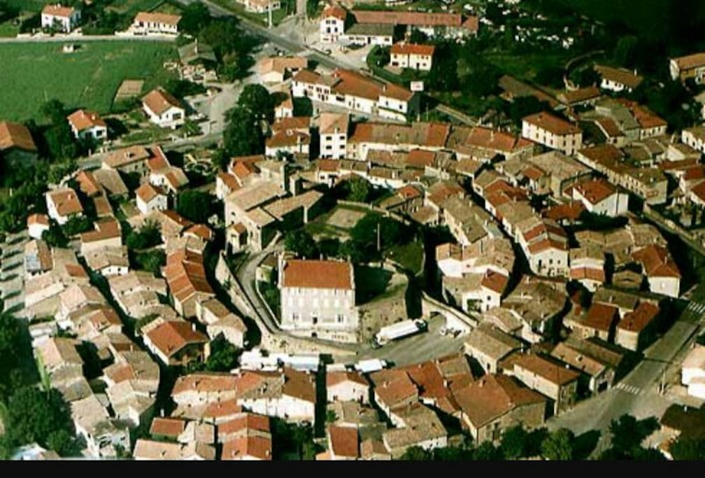 Alixan capitale des village circulaire