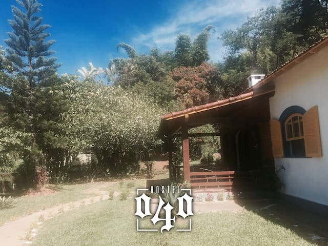 Quarto 2 (Vaga 4) Hostel 040 - Itaipava
