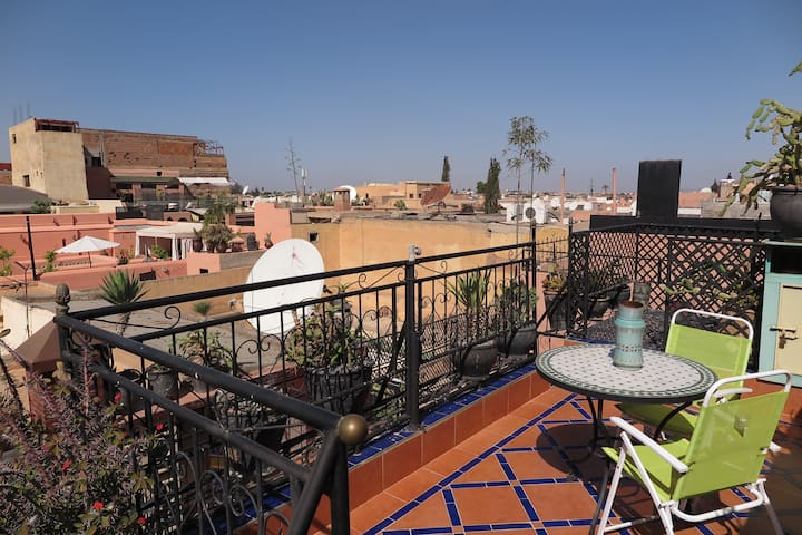 Blue Lagoon Riad - Marrakech  - Apartament