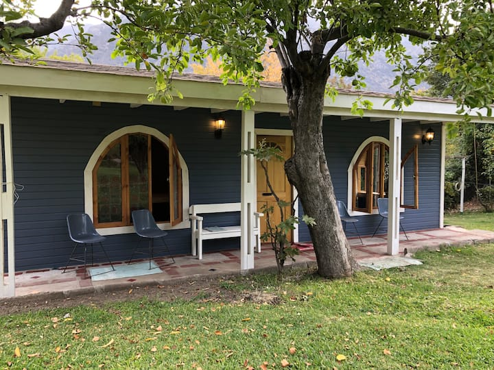 Nueva y acogedora Cabaña en Cajón del Maipo