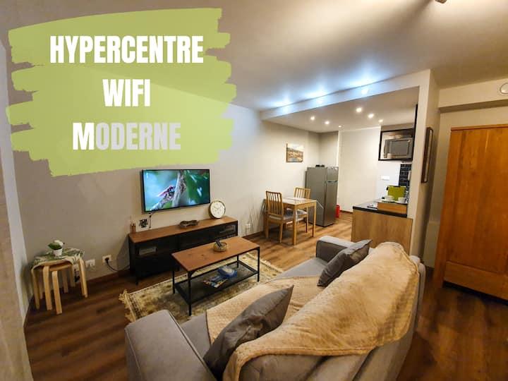 Cosy et confortable appartement en Coeur de ville