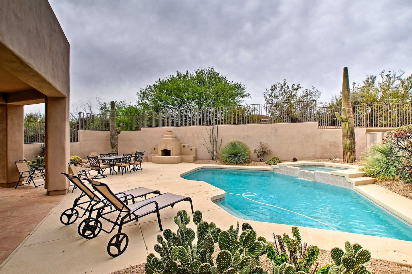 Escape to this vacation rental in Scottsdale for optimal holiday relaxation!