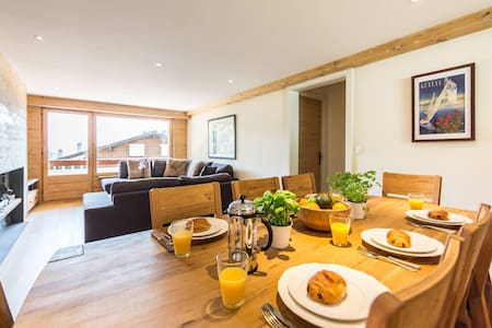 verbier ski appartment  3 bed 2 bath sleeps 6 - Bagnes - Byt