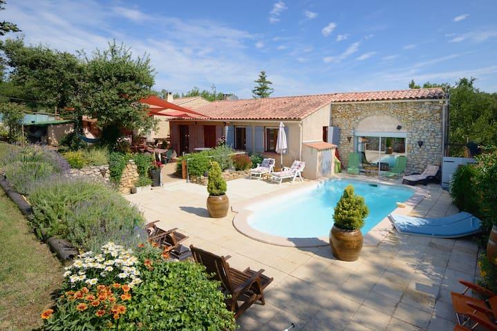Petit Coin de Paradis en Provence rien que pour vs - Mirabeau - 一軒家