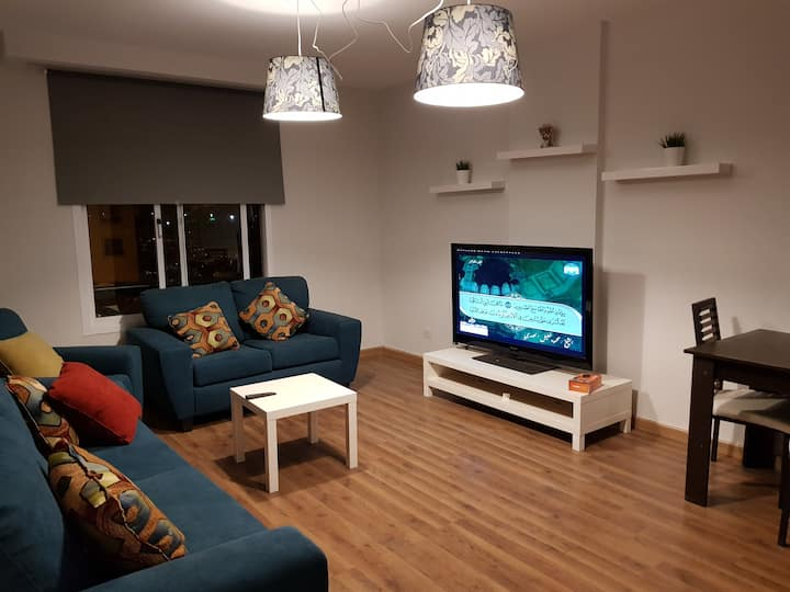 new furnished apartment in alrehab city