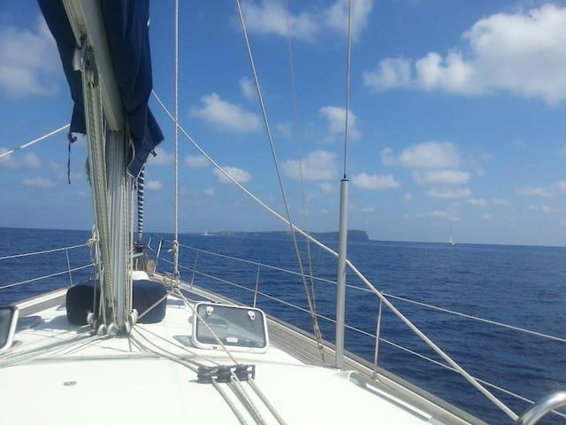 Ventotene in barca a vela - Ventotene - Boat