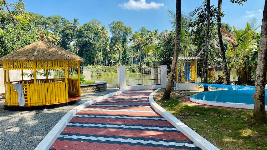 Theertham Waterfront Villa @ God's Own Country