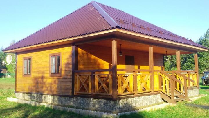 Гостевой дом  на Рыбинском  водохранилище