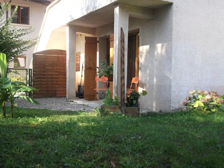 Appartement avec jardin à proximité de Genève