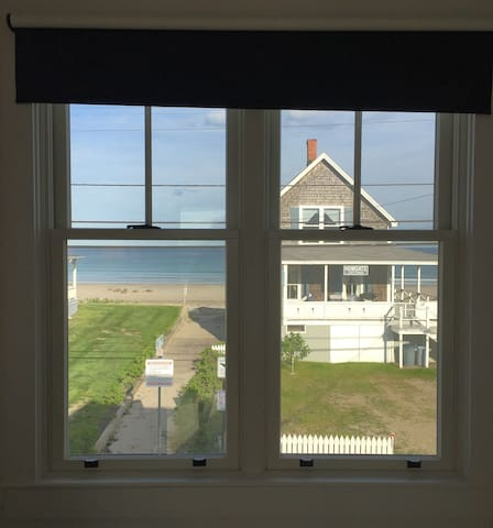 The view of the ocean from the master bedroom