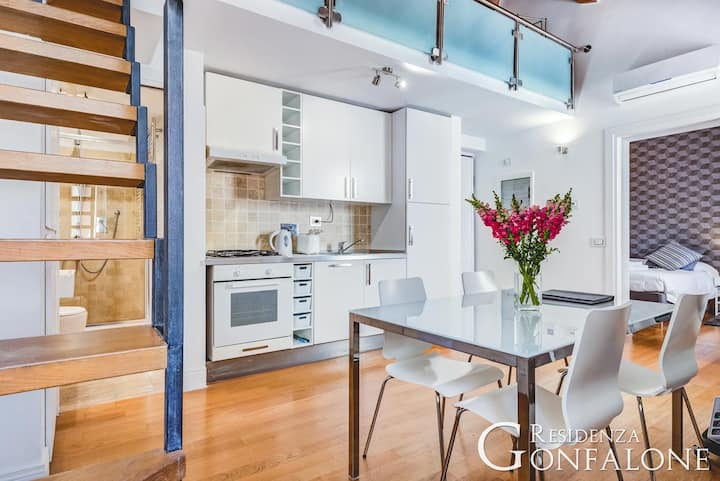 Residence Gonfalone Loft two bedrooms