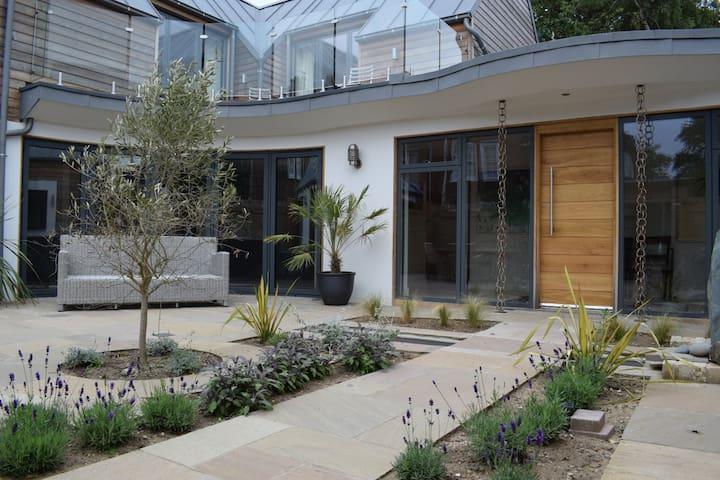 Cloudbreak, and the enclosed courtyard garden