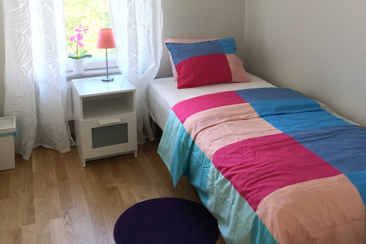 Apartament or two rooms 15 min from Center