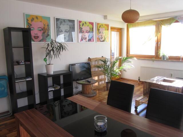 Ruhige Wohnung 85 m2 - Mittersill - Wohnung