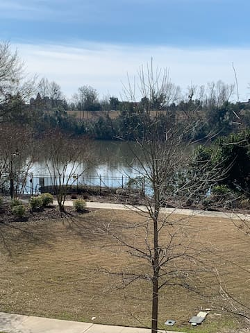 Beautiful river view 2nd floor condo