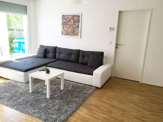Spacious Apartment with Garden and Pool