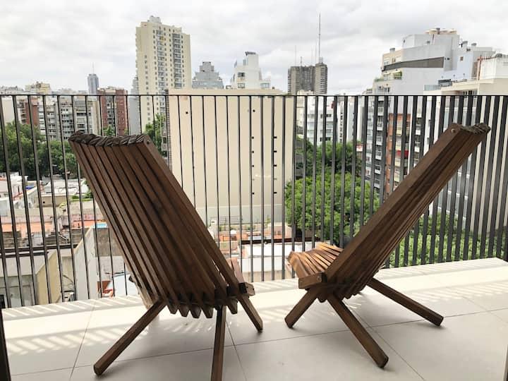 Apartamento con la mejor vista Palermo Hollywood