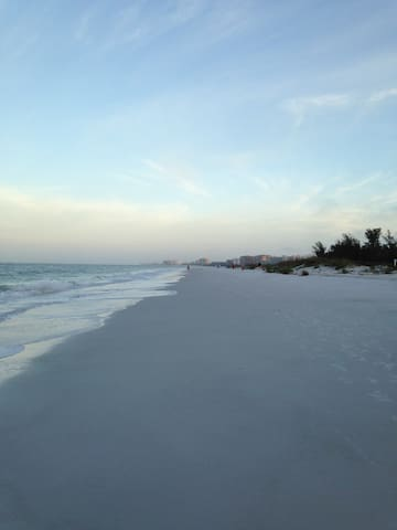 Siesta Key # 1 beach in America is 4 miles away!