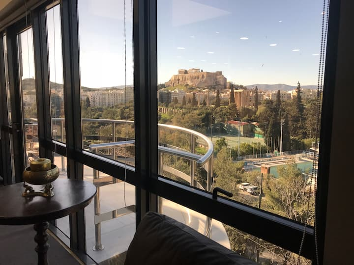 Penthouse Luxury Apartment with Acropolis view!