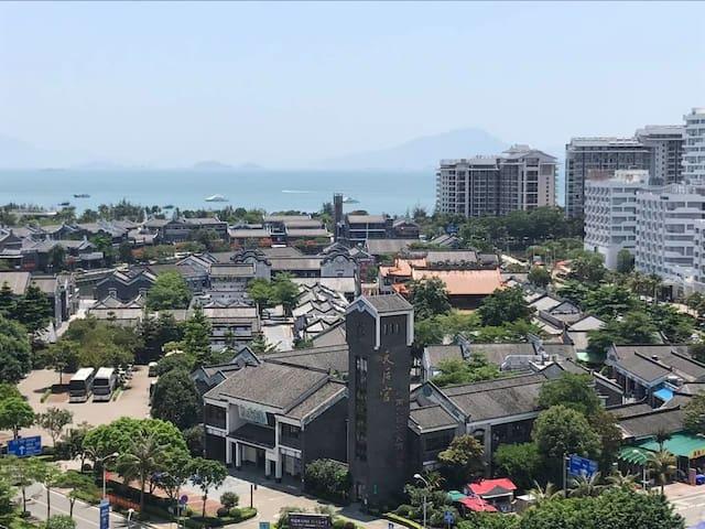 惠东巽寮湾阳光假日标准园景双床房