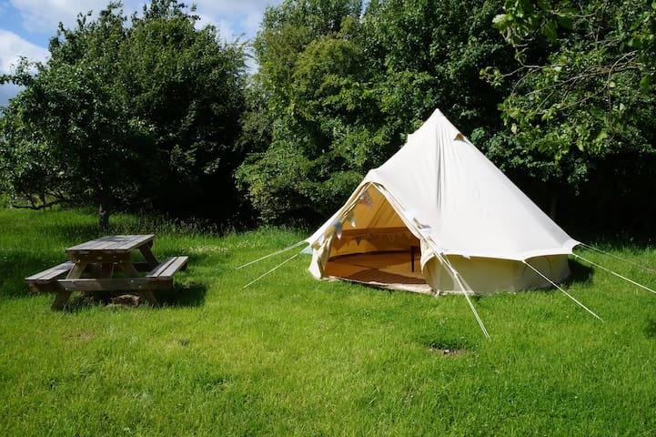 Victoria Bell Tent, The Orchard Getaway