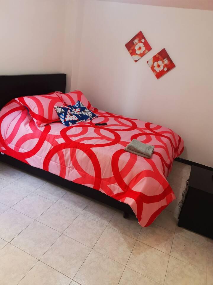 Hermosas habitaciones apto hasta para 8 personas