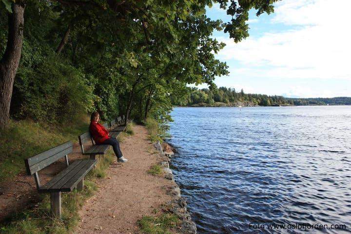 Nytt nær sjø, strender og Oslo - Sandvika - Flat