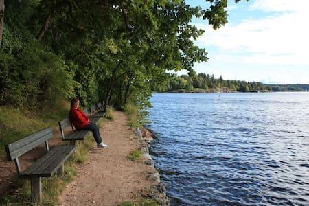 Nytt nær sjø, strender og Oslo - Sandvika