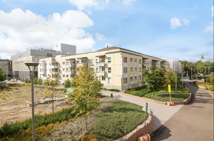 City center apartment 57.5 m2 (2 rooms +  kitchen)