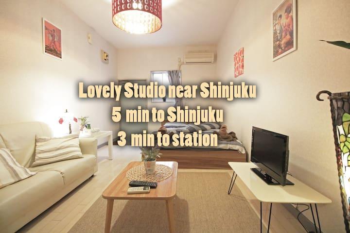 Lovely studio near Shinjuku