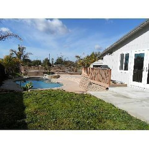 Secluded pool home in Tres Pinos.