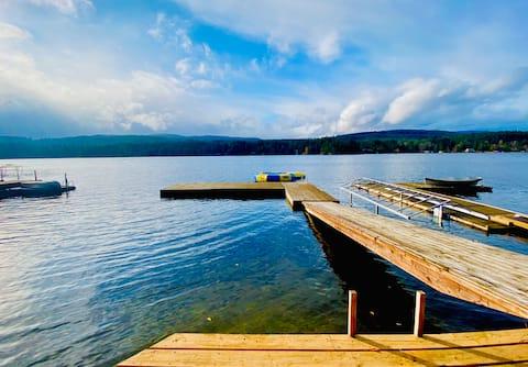 夏季湖滨小屋|轻松度假胜地
