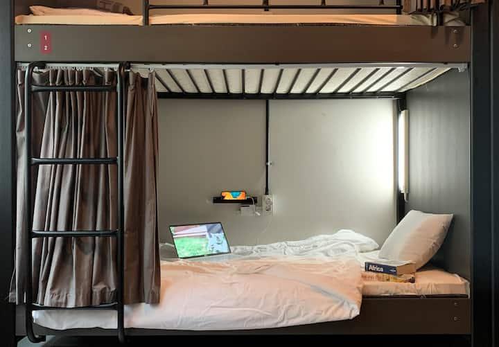 City center&Many local attractions : 6 Dorm (Men)