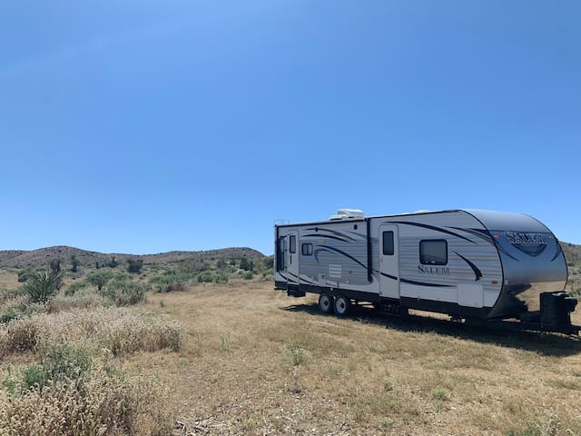 Maggie's Mountain Majesty Camping Trailer