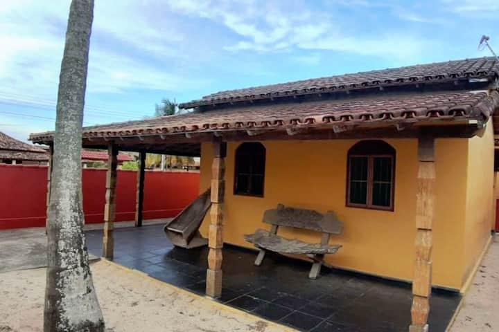 Residencial Gaivotas 40m praia Nova vicosa Casa 3